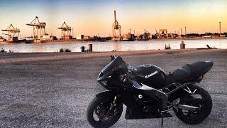 В гостях у MotoPrieks. Новый стиль, Honda Cb500, Kawasaki er6n