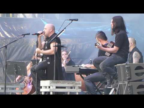 Disturbed. Sound Of Silence, live Download Festival, Donington June 2016