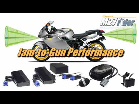 New Cheetah M27 Rider - laser jammer for motorcycles