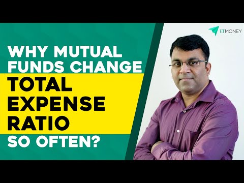 Change in Total Expense Ratio (TER) of Mutual Funds | Everything you need to know | ETMONEY