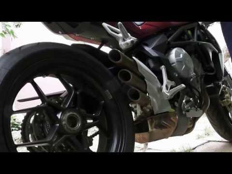 MV Agusta Brutale 800 sound (Full HD)
