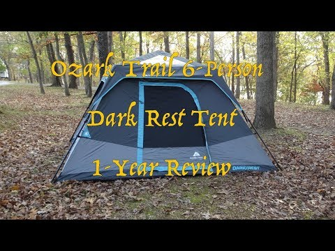 Ozark Trail 6p Dark Rest Tent - 1 Year Use Update