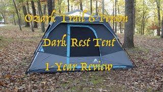 Ozark Trail 6p Dark Rest Tent - 1 year Use Update