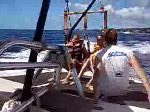 Ash & Chan Parasail in Maui