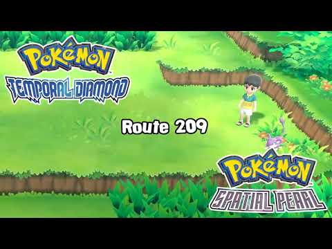 Pokemon Diamond and Pearl Remake - Route 209 Theme Remix (Unofficial)
