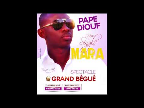 "Nouveau single de Pape Diouf ""Mara"""
