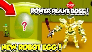 The ROBOT PETS In The NEW POWER PLANT AREA In SLAYING SIMULATOR Are So OVERPOWERED! (Roblox) thumbnail