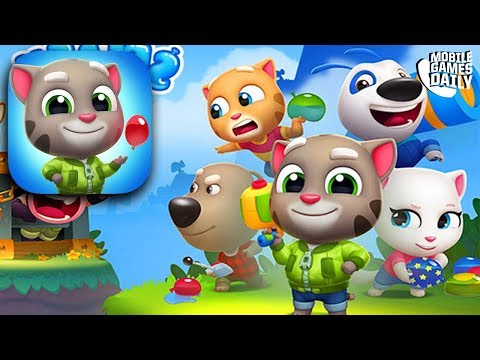 TALKING TOM SPLASH FORCE - ALL NEW TALKING TOM GAME | Tom Hero Dash | Tom Gold Run