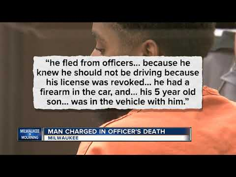 Criminal complaint recounts seconds before death of Milwaukee police officer Charles Irvine Jr.