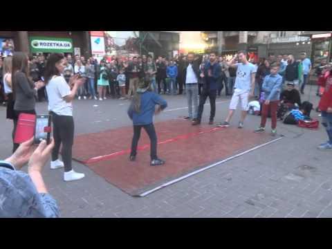 Street Dance Кив Хрещатик Shada Даша Власенко