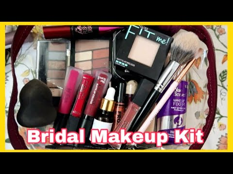 Under ₹1000 COMPLETE BRIDAL MAKEUP KIT // Anindita Chakravarty Mp3