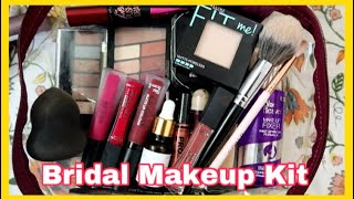 Under ₹1000 COMPLETE BRIDAL MAKEUP KIT // Anindita Chakravarty