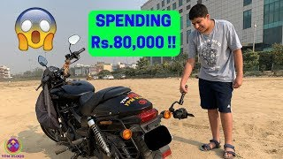 Rs.80,000 EXHAUST on my SUPERBIKE !! 😱😱😱