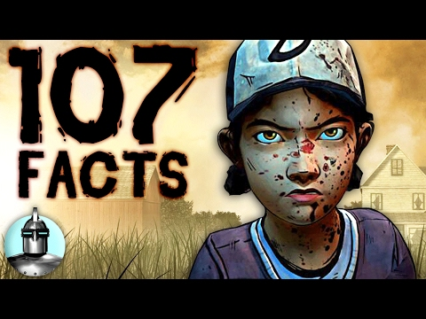 107 The Walking Dead Video Game FACTS You Should KNOW | The Leaderboard