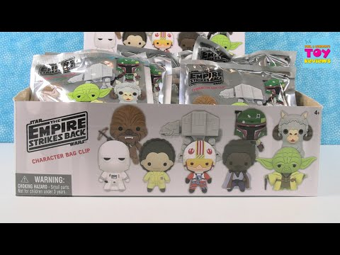 Star Wars The Empire Strikes Back Character Bag Clip Blind Bag Opening   PSToyReviews