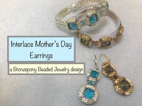 interlace-mother's-day-earrings