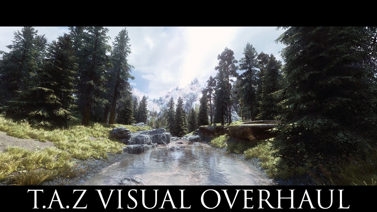 TES V - Skyrim Mods: T A Z Visual Overhaul