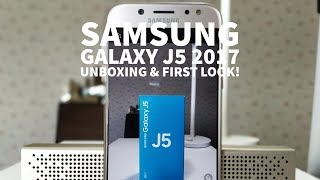 Samsung Galaxy J5 2017 - Unboxing & First Look