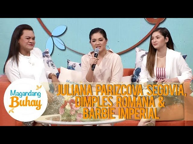 Magandang Buhay: Dimples, Barbie and Juliana talk about how their mothers supported them