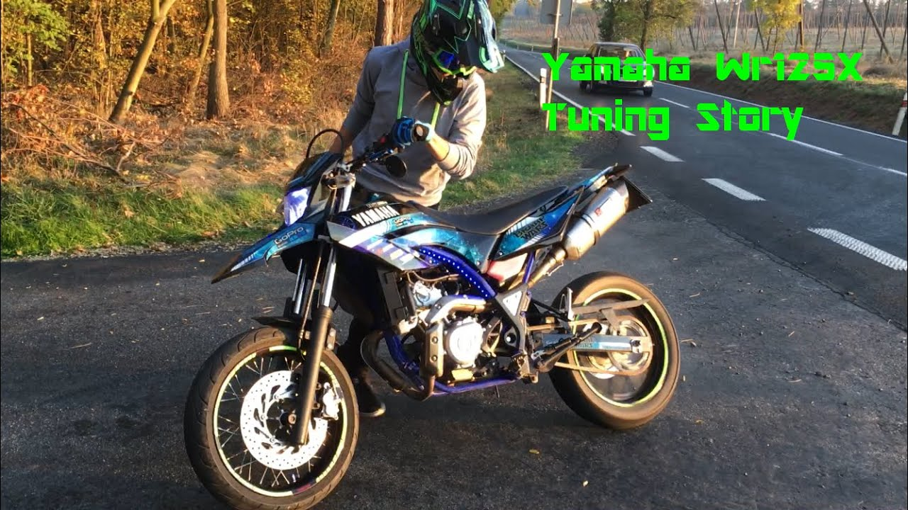 yamaha wr 125 x tuning story youtube. Black Bedroom Furniture Sets. Home Design Ideas