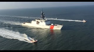 U.S. Coast Guard Cutter James Arrives Home in Charleston, SC