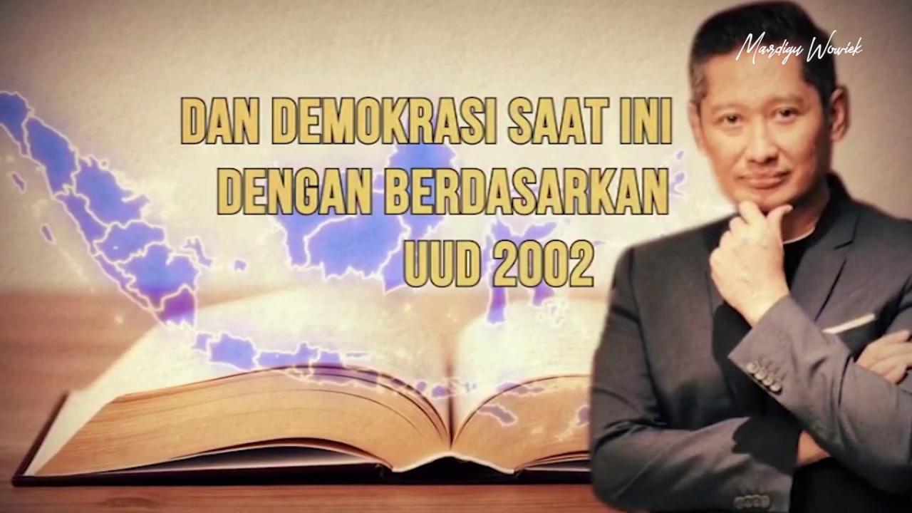 Indonesia Harus Coba Electoral Voting - Mardigu Wowiek