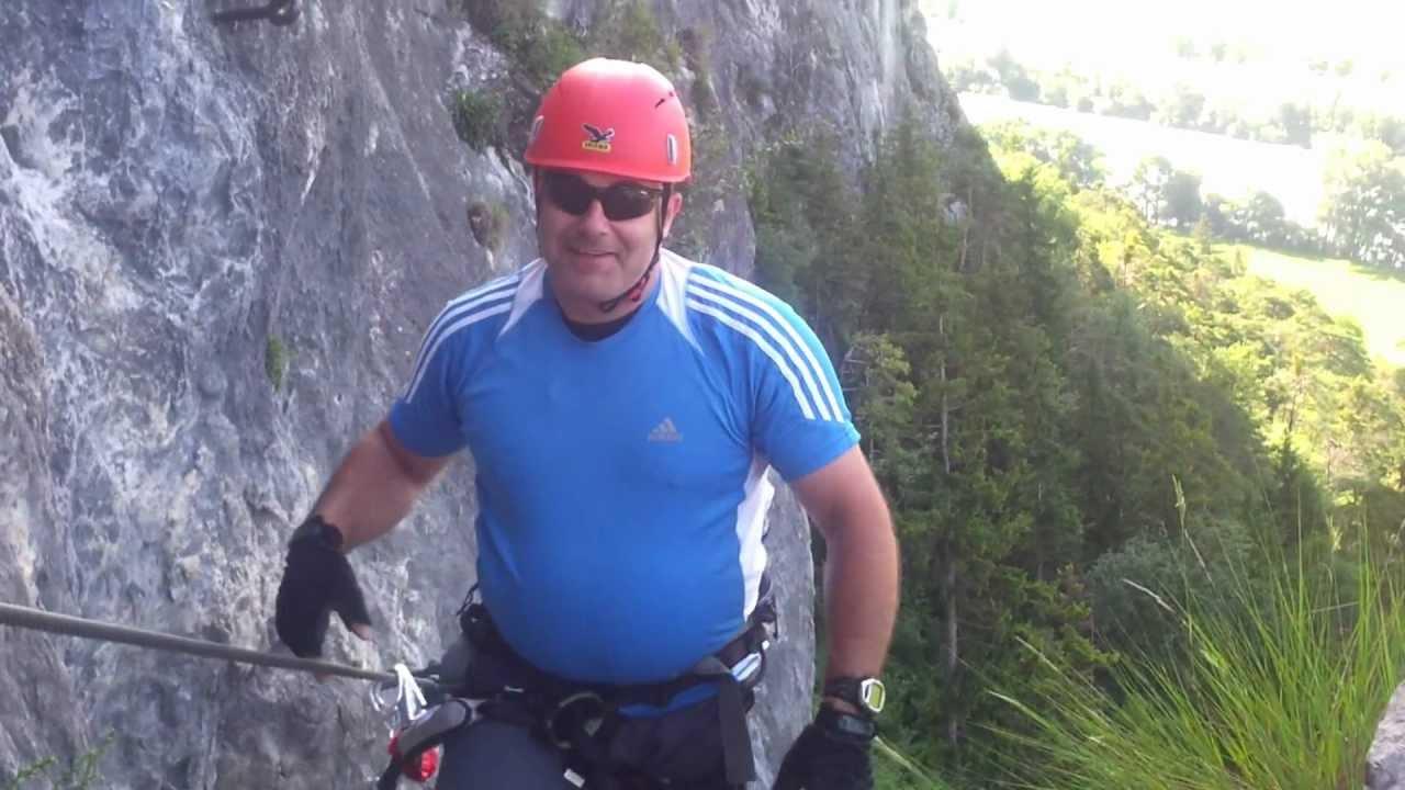 Maximilian Klettersteig : Kaiser maximilian klettersteig youtube