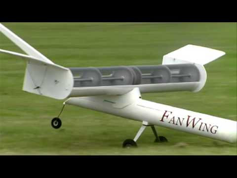 FanWing/EU SOAR: Distributed-propulsion aircraft with a trapped vortex inside the rotor cage