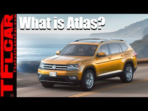 2018 Volkswagen Atlas: Everything We Know