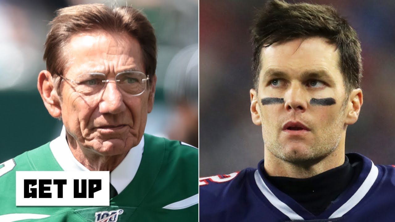 Joe Namath can't fathom Tom Brady leaving the Patriots | Get Up