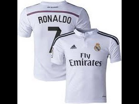 Real Madrid 2014 15 Home Jersey Unboxing  73db5e29e