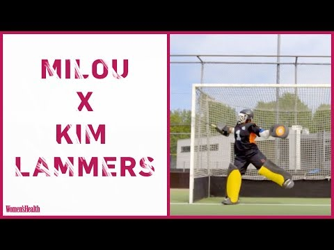 WH's Milou X tophockeySTER Kim Lammers