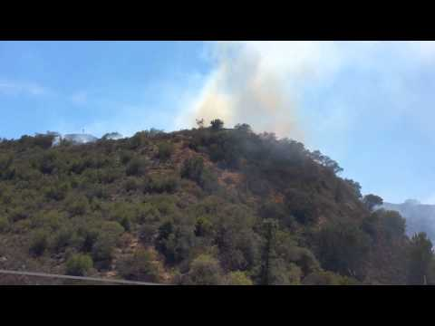 Southern Cal Wildfire June 2015