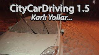 City Car Driving 1.5 - Karlı Yollar (Logitech Driving Force GT) #2