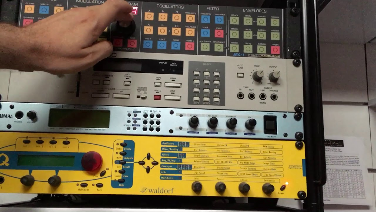 Sequencer session with midibox seq