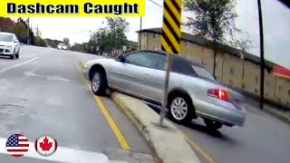 Ultimate North American Cars Driving Fails Compilation - 234 [Dash Cam Caught Video]