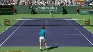 Nadal vs. Murray, Indian Wells final, highlights 1 set