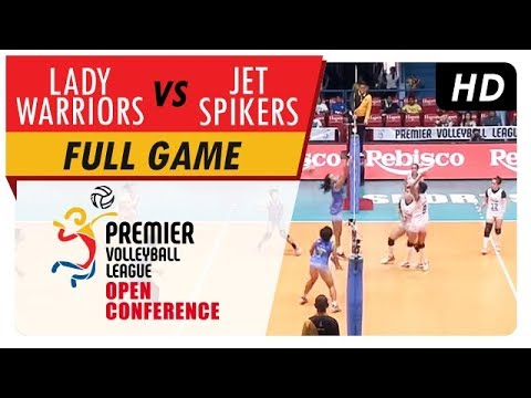 Lady Warriors vs. Jet Spikers | WV Full Game | 1st Set | PVL Open Conference | August 9, 2017