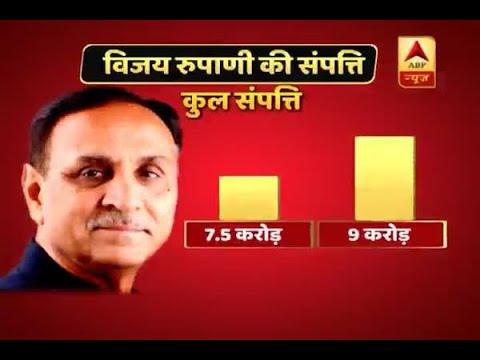Gujarat Assembly Elections 2017 Vijay Rupani Files Nomination From Rajkot West Declares