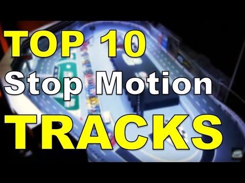 TOP 10 NASCAR STOP MOTION TRACKS