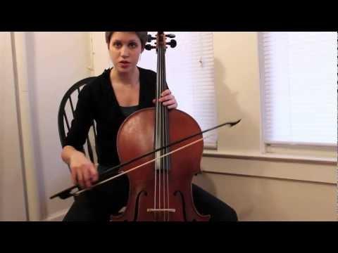 Baroque Cello/String Bow Technique Lesson