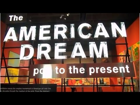 Exhibition Review : The American Dream at the British Museum from 9th March to 18th June 2017