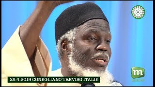 conference Oustaz Alioune SALL 25 4 2019 TREVISO ITALIE
