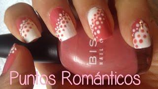 DISEÑO DE UÑAS: PUNTOS ROMANTICOS thumbnail