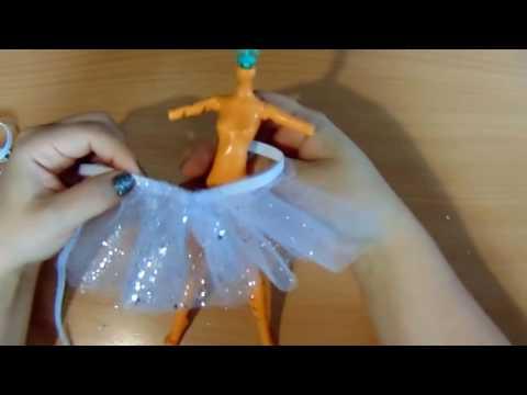 Делаем юбку-пачку для кукол