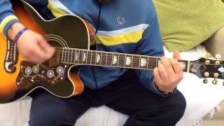 Cast-Walk Away-Acoustic Guitar Lesson.