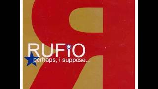 Band: Rufio Album: Perhaps, I suppose... Year: 2001 00:00 - Above m...