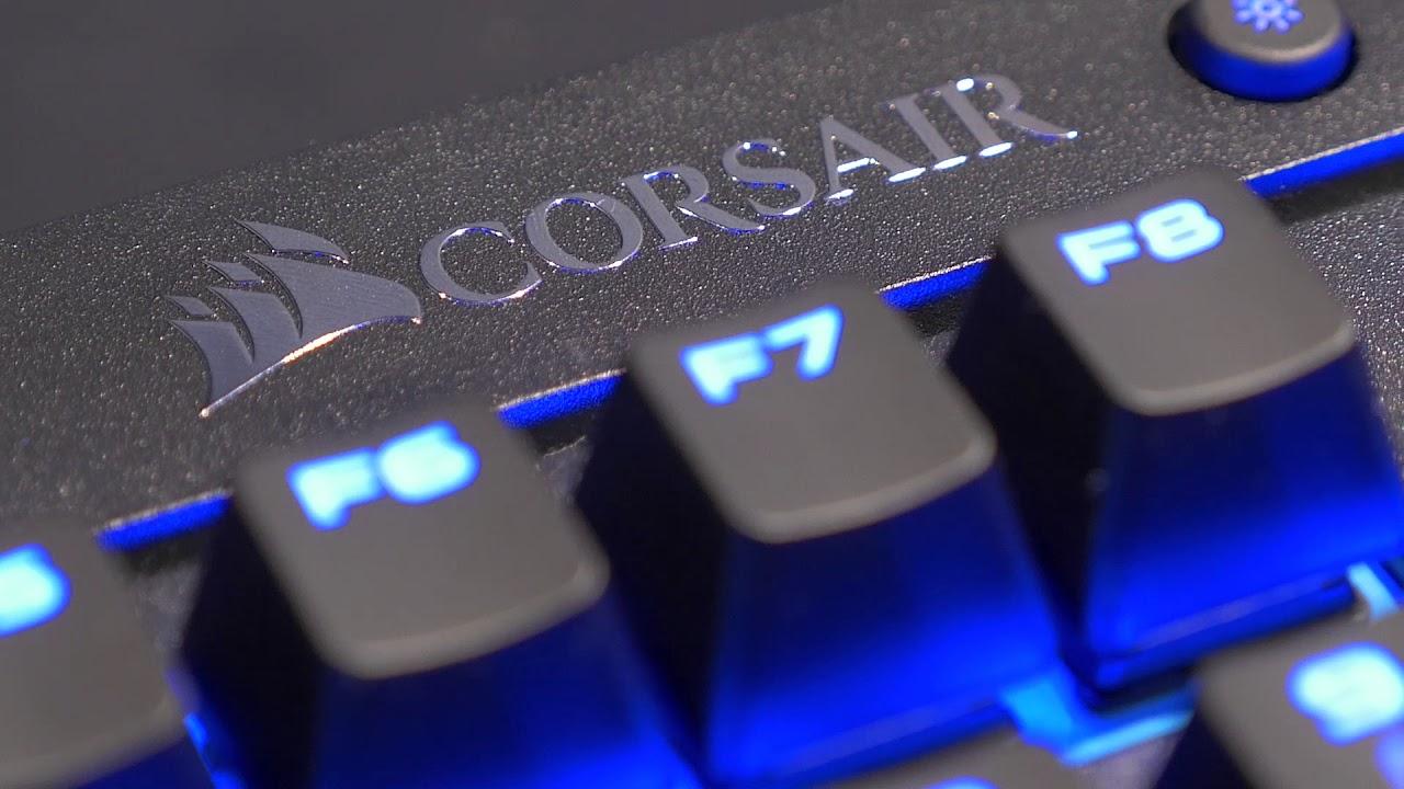 bf9bef1cc98 Corsair K63 Wireless Gaming Keyboard @ CES 2018 - YouTube