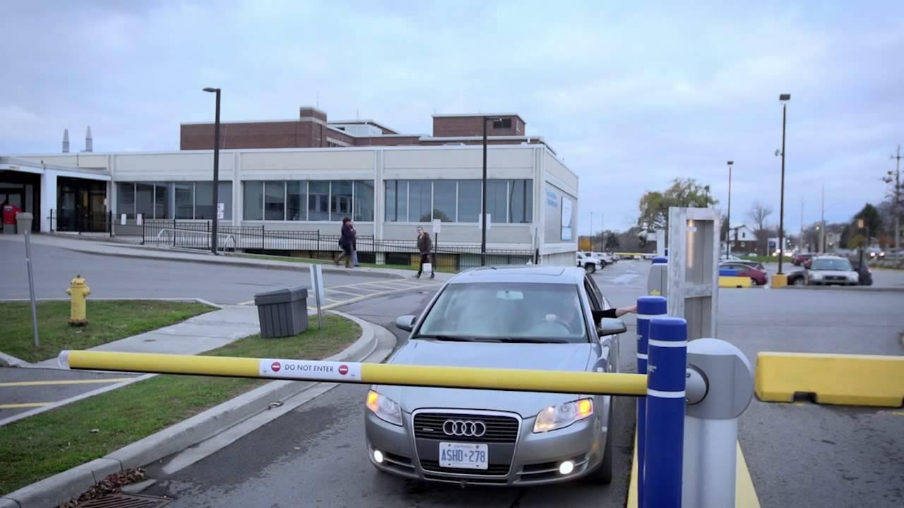 Parking and patient registration at Quinte Health Care - Belleville ...
