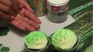 Saint Patricks Cupcake